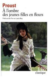 A l'ombre des jeunes filles en fleur. Im Schatten junger Mädchenblüte, französische Ausgabe