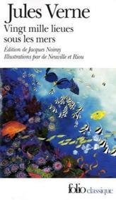 Vingt mille lieues sous les mers. Zwanzigtausend Meilen unter dem Meer, französische Ausgabe