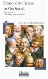Le père Goriot. Vater Goriot, französische Ausgabe