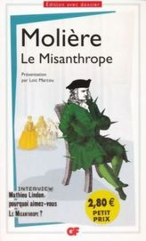 Le Misanthrope. Der Menschenfeind, französische Ausgabe
