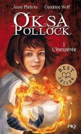 Oksa Pollock - L' inespérée. Oksa Pollock - Die Unverhoffte, französische Ausgabe