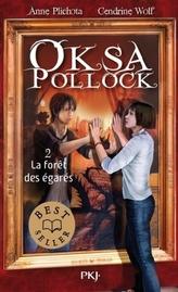 Oksa Pollock - La forêt des égarés. Oksa Pollock - Die Entschwundenen, französische Ausgabe
