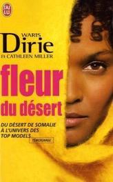 Fleur du desert. Wüstenblume, französische Ausgabe