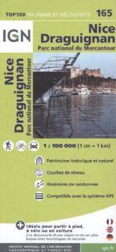 IGN Karte, Tourisme et découverte Nice, Draguignan