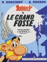 Asterix - Le grand fosse. Der große Graben, französische Ausgabe