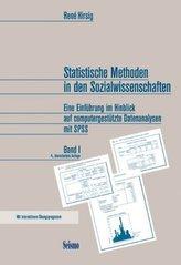 Statistische Methoden in den Sozialwissenschaften. Bd.1