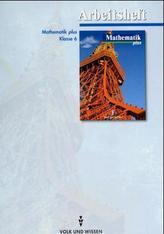 Mathematik plus, Ausgabe Gymnasium Brandenburg, Sachsen und Sachsen-Anhalt, Klasse 6, Arbeitsheft
