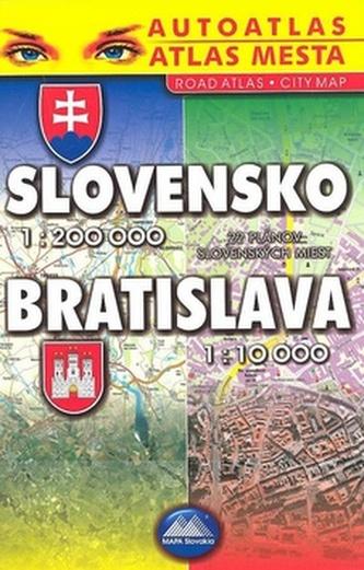 Slovensko 1 : 200000 Bratislava 1:10 000