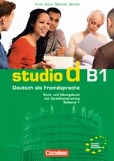Kurs- und Übungsbuch mit Zertifikatstraining, m. Audio-CD. Tl.1
