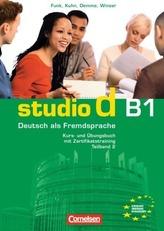 Kurs- und Übungsbuch mit Zertifikatstraining, m. Audio-CD. Tl.2