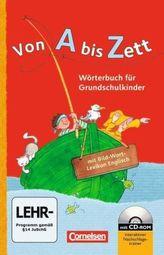 Wörterbuch für Grundschulkinder, mit Bild-Wort-Lexikon Englisch und CD-ROM