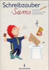 Schreibzauber mit Sams, Schreibheft Schulausgangsschrift nach Druckschrift