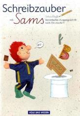Schreibzauber mit Sams, Schreibheft Vereinfachte Ausgangsschrift nach Druckschrift