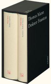 Doktor Faustus, m. Kommentar, 2 Bde.