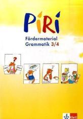 3./4. Schuljahr, Arbeitsheft Grammatik