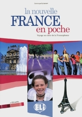 La nouvelle France en poche, Schülerbuch m. Audio-CD