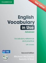 English Vocabulary in Use, Advanced, with answers and CD-ROM (Second edition)
