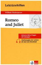Lektürehilfen William Shakespeare 'Romeo and Juliet'