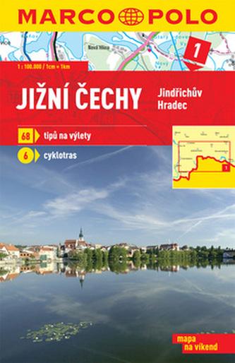 Jižní Čechy Jindřichův Hradec 1:100 000