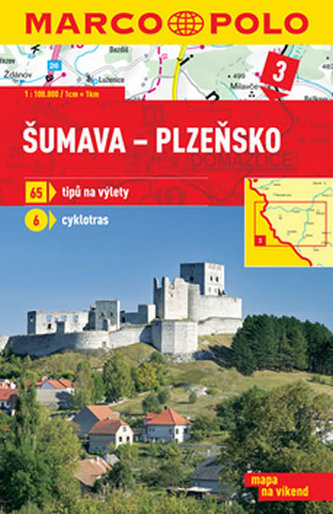 Šumava Plzeňsko 1:100 000 - neuveden