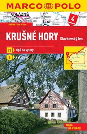 Krušné hory Slavkovský les 1:100 000