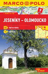 Jeseníky Olomoucko 1:100 000