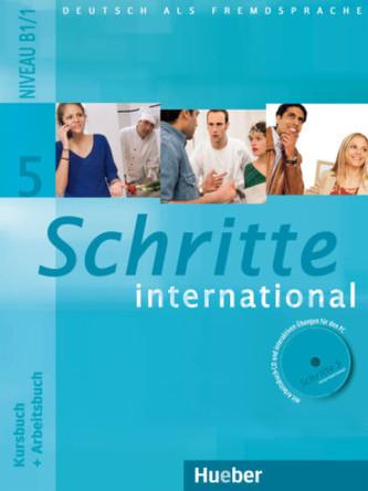 Schritte international 5, Kursbuch + Arbeitsbuch - Náhled učebnice