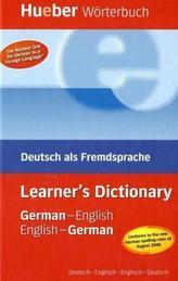 Learner's Dictionary German-English / English-German