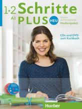 Medienpaket, 5 Audio-CDs und 1 DVD zum Kursbuch