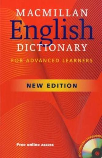 Macmillan English Dictionary for Advanced Learners, w. CD-ROM