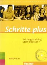 Prüfungstraining Start Deutsch, m. Audio-CD