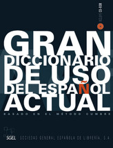 Gran diccionario de uso del español actúal, m. CD-ROM