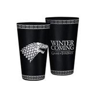 Sklenice Game of Thrones - Stark 400 ml