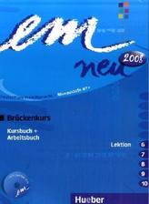 Kursbuch und Arbeitsbuch (Lektion 6-10), m. Audio-CD