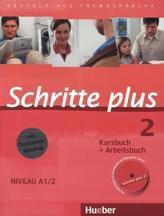 Kursbuch + Arbeitsbuch + interaktive Übungen + Audio-CD
