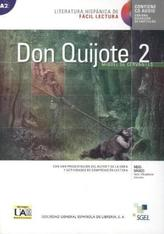 Don Quijote de la Mancha, m. Audio-CD. Vol.2