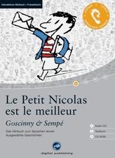 Le Petit Nicolas est le meilleur, 1 Audio-CD + 1 CD-ROM + Textbuch