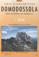 Landeskarte der Schweiz Domodossola