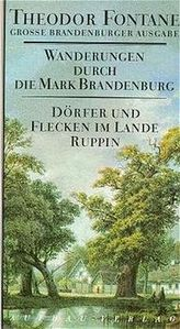 Wanderungen durch die Mark Brandenburg - Dörfer und Flecken im Lande Ruppin