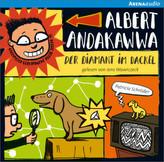 Albert Andakawwa - Der Diamant im Dackel, Audio-CD