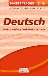 Deutsch - Rechtschreibung und Zeichensetzung