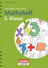 Matheheft 5. Klasse