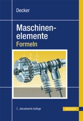 Maschinenelemente, Formeln