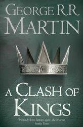A Clash of Kings. Der Thron der Sieben Königreiche; Die Saat des goldenen Löwen, englische Ausgabe