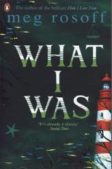 What I Was. Damals, das Meer, englische Ausgabe