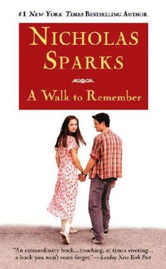 A Walk to Remember, Film Tie-In. Zeit im Wind, englische Ausgabe - Nicholas Sparks