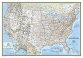 National Geographic Map USA Classic, Planokarte
