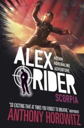 Alex Rider - Scorpia, English edition