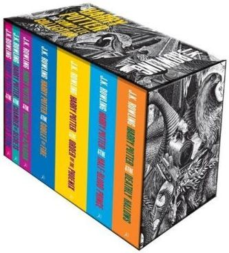 The Complete Harry Potter Collection, Adult Edition, 7 Vols. - Rowling, Joanne K.
