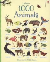1000 Animals. 1000 Tiere, englische Ausgabe
